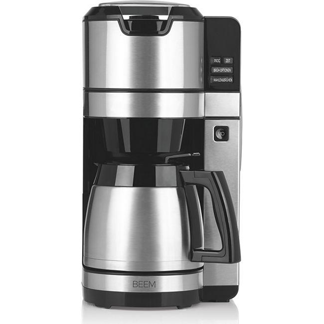 BEEM Kaffeemaschine 1,25l 1100W schwarz/Edelstahl - Bild 1
