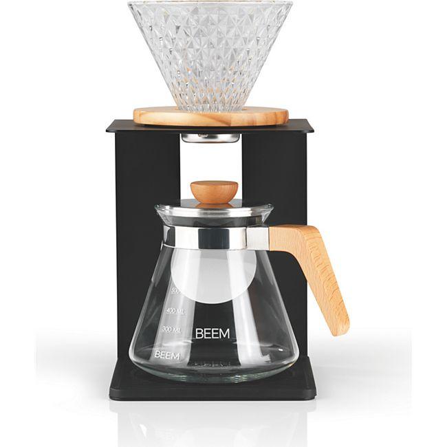 BEEM Kaffeebereiter Set Pour Over 4-tlg. 600ml schwarz/Edelstahl - Bild 1