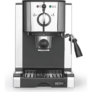 BEEM Espresso-Maschine Espresso Perfect Ultimate 20bar Chrome-Style 1470W silber - Bild 1