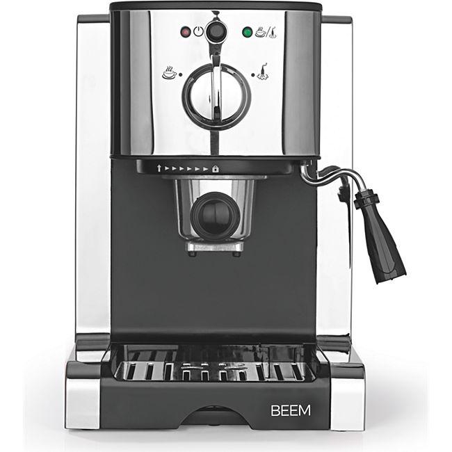 BEEM Espresso-Maschine Espresso Perfect Ultimate 20bar Chrome-Style 1470W silber - Bild 1