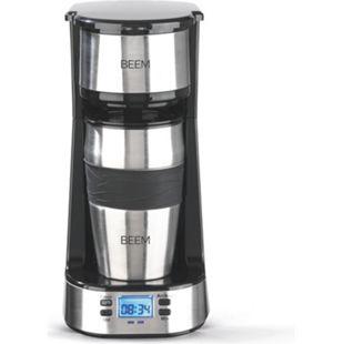 BEEM Single-Kaffeemaschine Thermo2Go 750W Edelstahl/schwarz - Bild 1