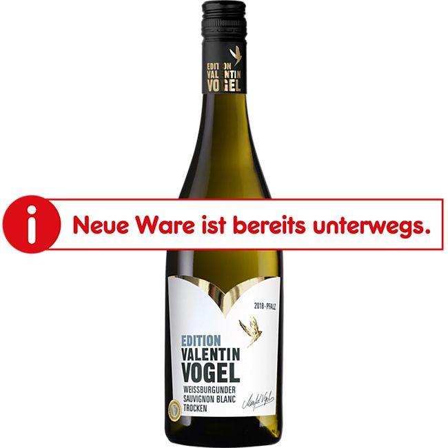 Valentin Vogel Weißburgunder Sauvignon Blanc QbA 12,4 % vol 0,75 Liter - Bild 1