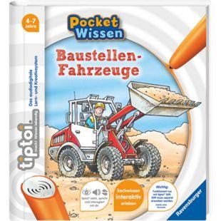 Ravensburger tiptoi® Pocket Wissen - Baustellenfahrzeuge - Bild 1