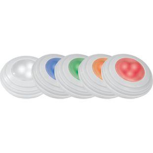 EASYmaxx LED-Lichter mit Farbwechsel 5-tlg. 4,5V weiß mit Fernb. - Bild 1