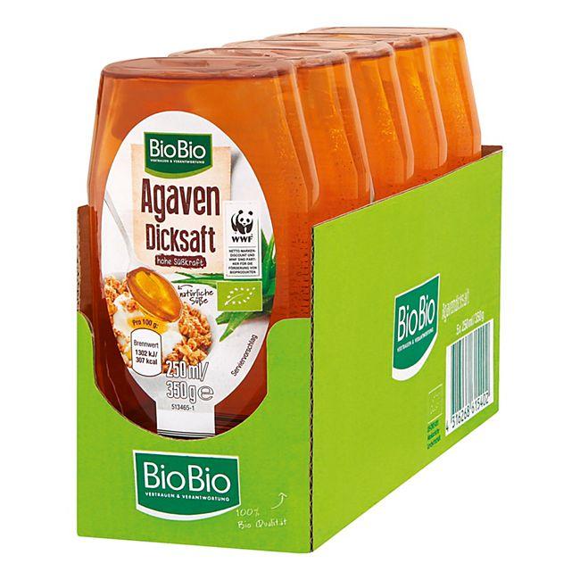 BioBio Agavendicksaft 350 g, 5er Pack - Bild 1