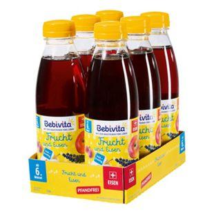 Bebivita Frucht & Eisen Saft 0,5 Liter PET, 6er Pack - Bild 1