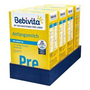 Bebivita Pre Anfangsmilch 500 g, 4er Pack - Bild 1