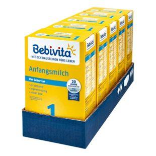 Bebivita 1 Anfangsmilch 500 g, 5er Pack - Bild 1