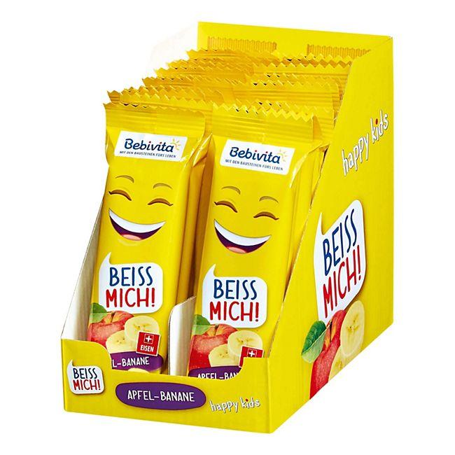 Bebivita Früchte Riegel Apfel Banane 25 g, 20er Pack - Bild 1