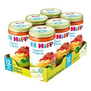 HiPP Bio Menü Spaghetti Bolognese 250 g, 6er Pack - Bild 1