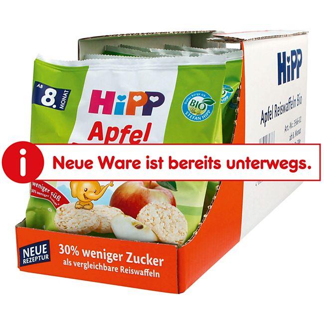 HiPP Bio Kinder Reiswaffeln Apfel 30 g, 7er Pack - Bild 1