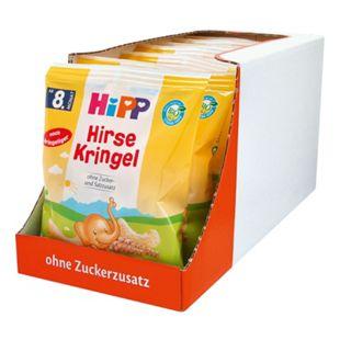 HiPP Bio Hirse Kringel 30 g, 7er Pack - Bild 1