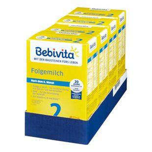 Bebivita 2 Folgemilch 500 g, 4er Pack - Bild 1