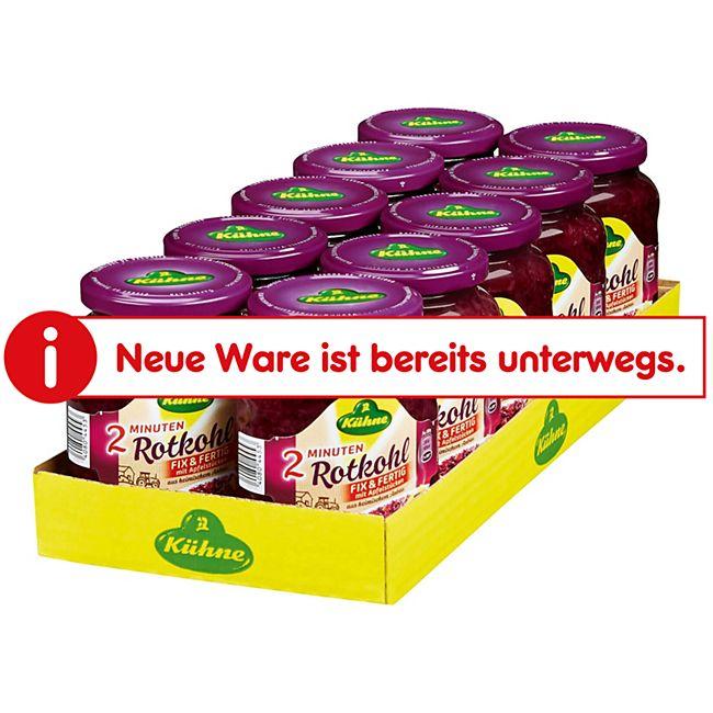Kühne Rotkohl fix & fertig 355 g, 10er Pack - Bild 1