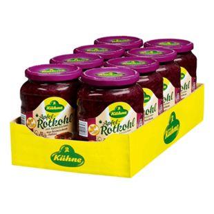 Kühne Apfelrotkohl 650 g Abtropfgewicht, 8er Pack - Bild 1