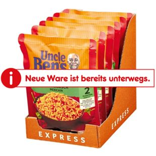 Uncle Bens Expressreis Mexikanisch 250 g, 6er Pack - Bild 1