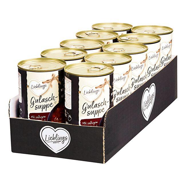 Lieblings Gulaschsuppe 480 ml, 10er Pack - Bild 1