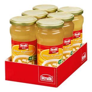 Struik Hühner-Kraftbouillon 340 ml, 6er Pack - Bild 1