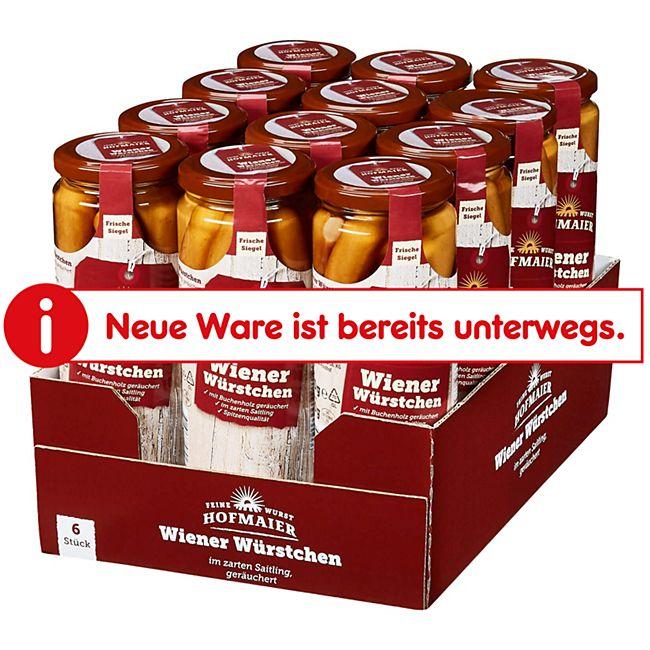 Hofmaier QS Wiener im Saitling 300 g, 12er Pack - Bild 1