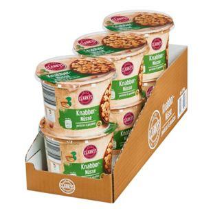 Clarkys Snack Nüsse geröstet & gesalzen 275 g, 6er Pack - Bild 1