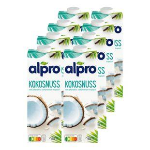 Alpro Kokosnussdrink Original 1 Liter, 8er Pack - Bild 1