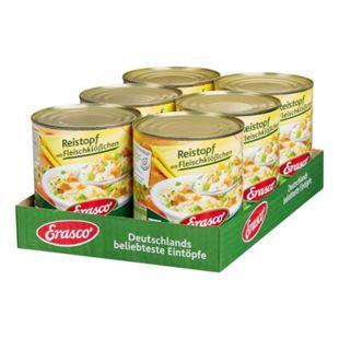 Erasco Reistopf mit Fleischklößchen 800 g, 6er Pack - Bild 1