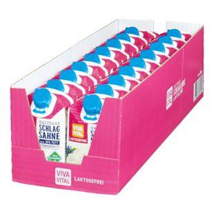 Viva Vital Laktosefreie H-Schlagsahne 30% Fett 200 g, 18er Pack - Bild 1