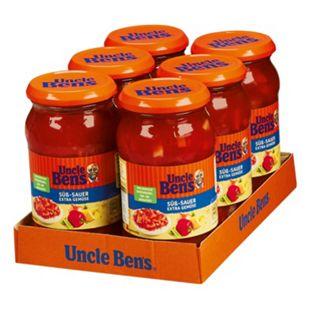 Uncle Ben's® Süß-Sauer Sauce Gemüse 400 g, 6er Pack - Bild 1