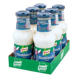 Knorr Knoblauch-Sauce 250 ml, 6er Pack - Bild 1
