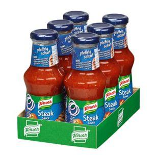 Knorr Steak-Sauce 250 ml, 6er Pack - Bild 1