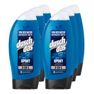 Duschdas Duschgel Sport 250 ml, 6er Pack - Bild 1