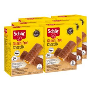 Schär Chocolix Karamelriegel 110 g, 6er Pack - Bild 1