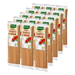 BioBio Spaghetti Vollkorn 500 g, 15er Pack - Bild 1