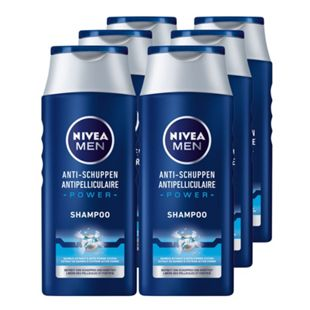 NIVEA Men Anti-Schuppen Power Shampoo 250 ml, 6er Pack - Bild 1