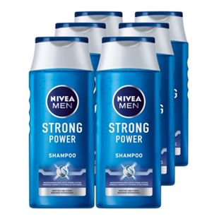 NIVEA Pflegeshampoo Strong Power 250 ml, 6er Pack - Bild 1