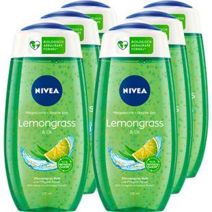 NIVEA Pflegedusche Lemongras + Oil 250 ml, 6er Pack - Bild 1