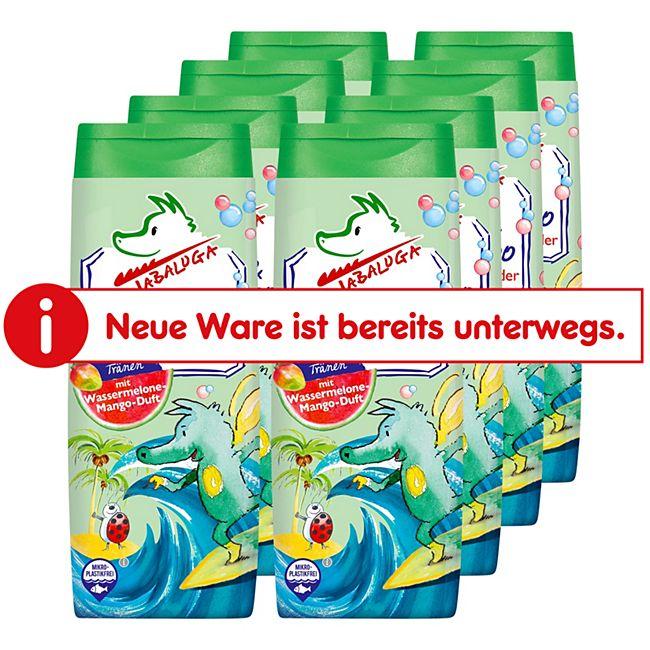 Tabaluga Kinder Dusche & Shampoo grün 300 ml, 8er Pack - Bild 1