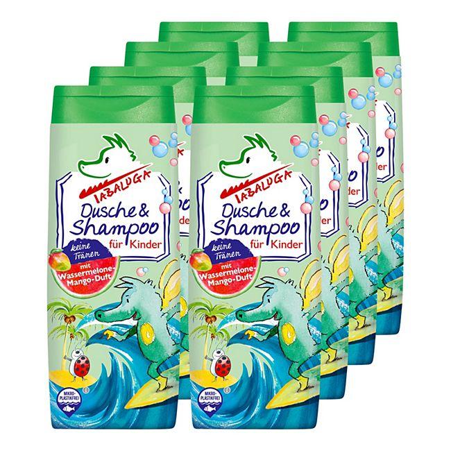 Tabaluga Kinder Dusche & Shampoo blau 300 ml, 8er Pack - Bild 1