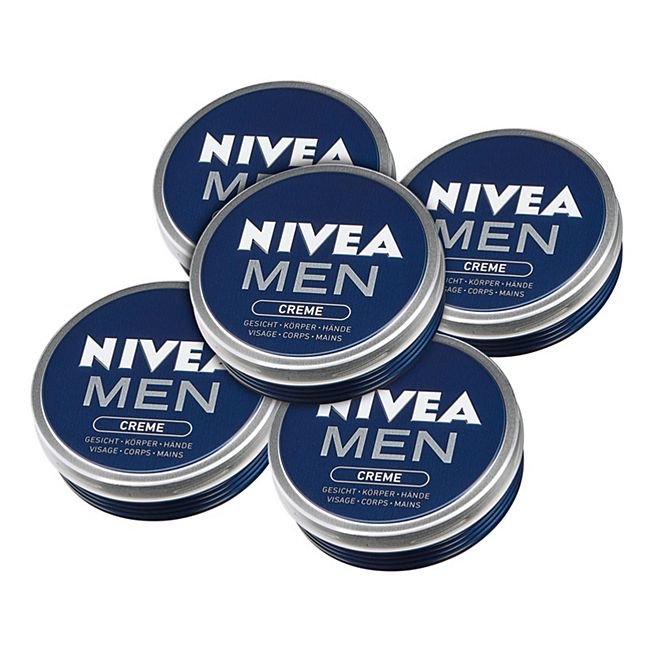 Nivea Men Creme 150 ml, 5er Pack - Bild 1