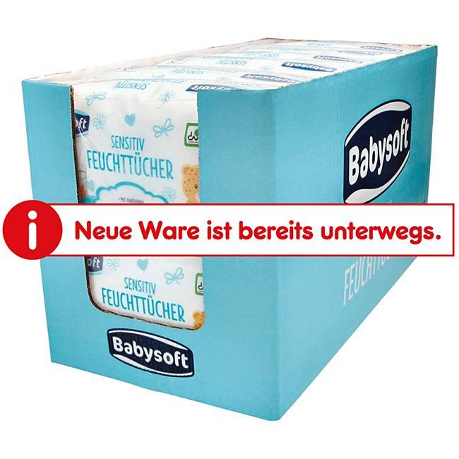 Babysoft Baby Feuchttücher Sensitive 160 Stück, 6er Pack - Bild 1