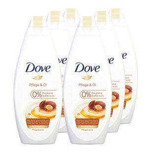 Dove Duschcreme Pflege & Öl 250 ml, 6er Pack - Bild 1