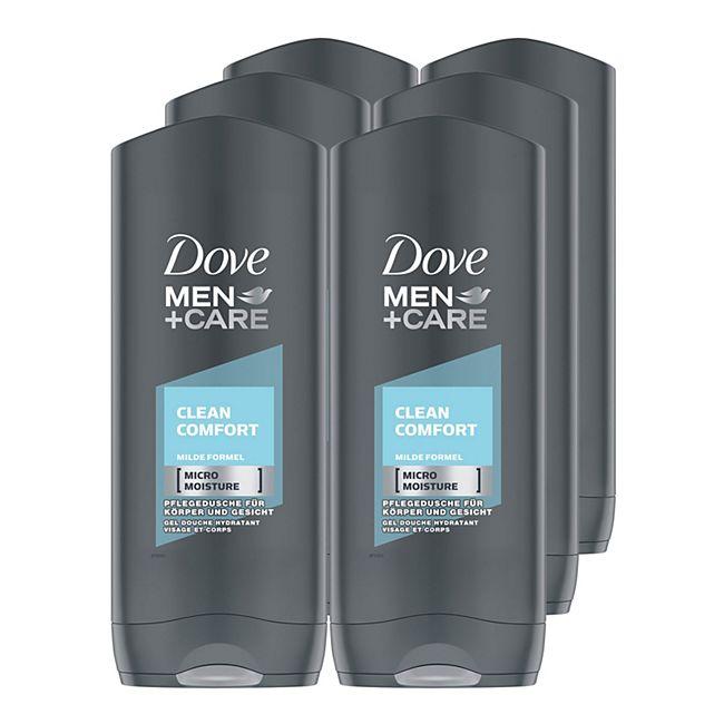 Dove Men Dusche Clean Comfort 250 ml, 6er Pack - Bild 1