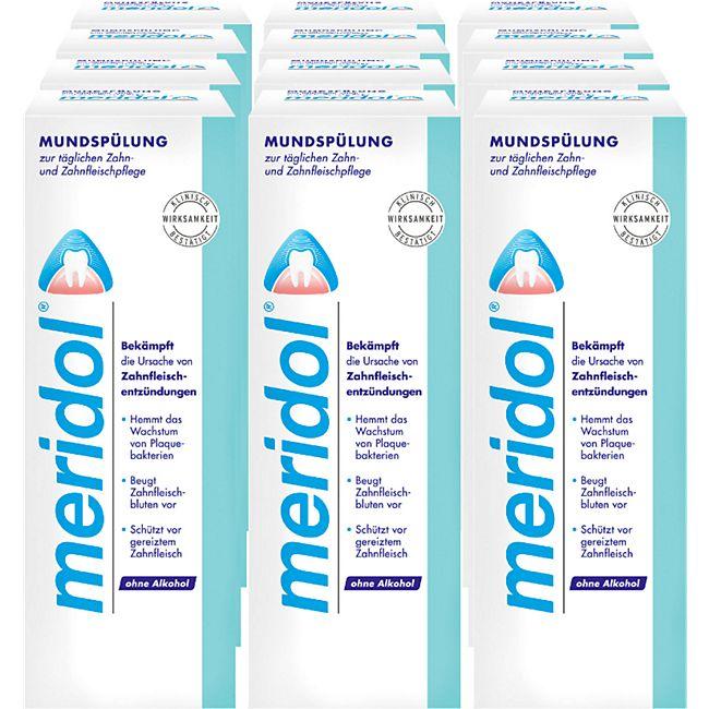 Meridol Mundspülung 400 ml, 12er Pack - Bild 1