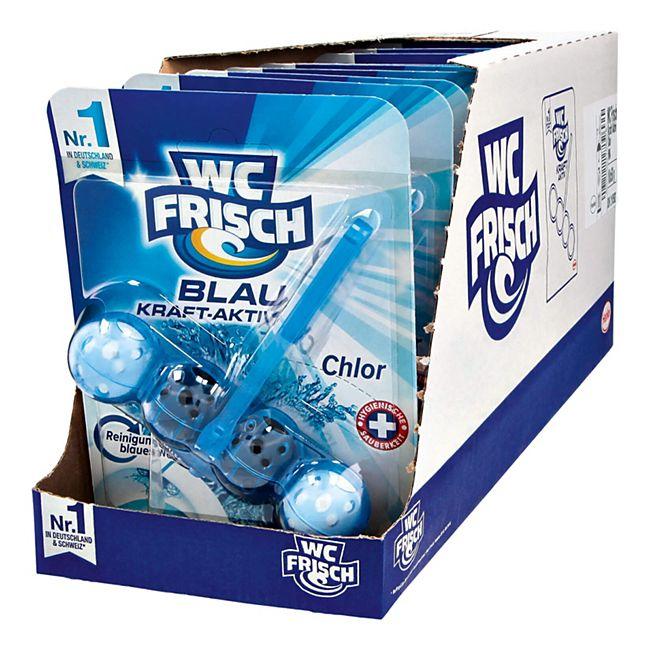 WC Frisch Kraft-Aktiv Blauspüler Chlor 50 g, 10er Pack - Bild 1