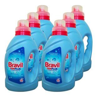 Bravil Feinwaschmittel Fein Plus 37 WL, 6er Pack - Bild 1