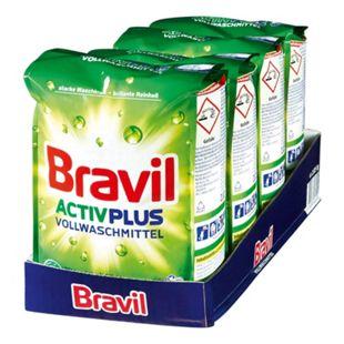 Bravil Vollwaschmittel Activ Plus 30 WL, 4er Pack - Bild 1