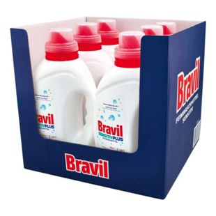 Bravil Feinwaschmittel Sensitiv Plus 1,5 Liter, 6er Pack - Bild 1