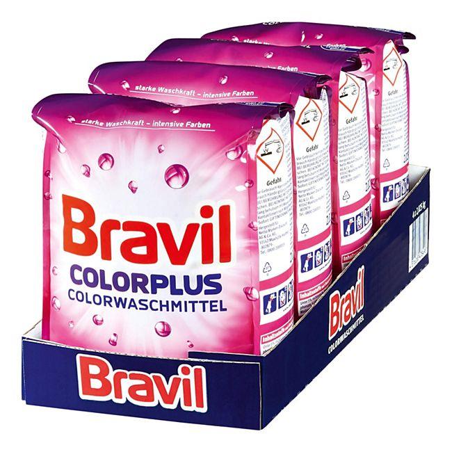 Bravil Colorwaschmittel Plus 30 WL, 4er Pack - Bild 1