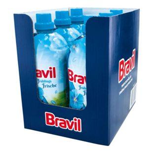 Bravil Weichspüler Frühlingsfrische 1,5 Liter, 6er Pack - Bild 1