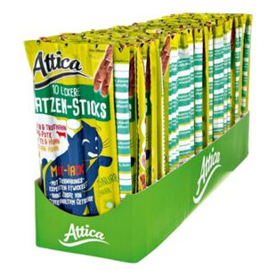 Attica Katzenfutter Sticks Mix-Pack 50 g, 30er Pack - Bild 1